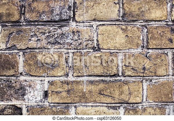 old brick wall - csp63126050