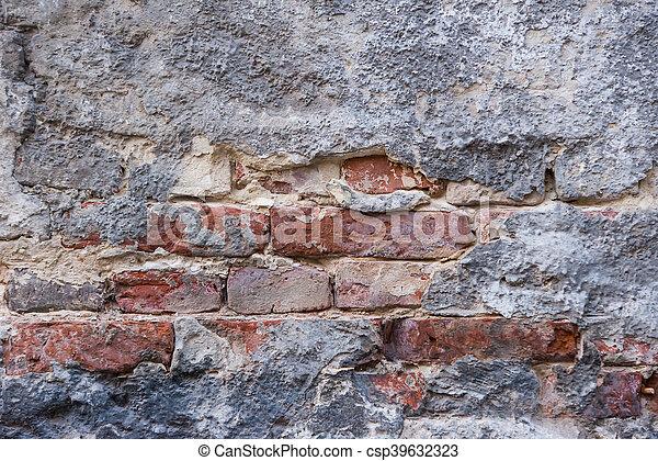 old brick wall - csp39632323