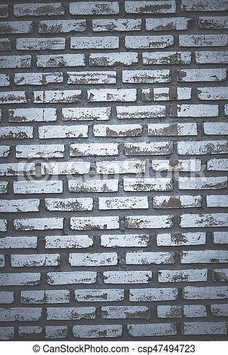 old brick wall - csp47494723
