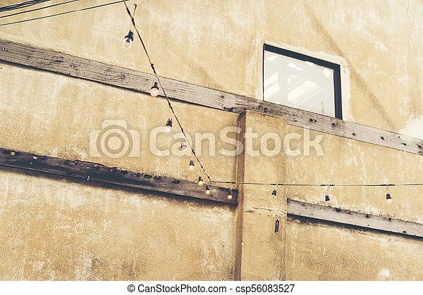 old brick wall - csp56083527