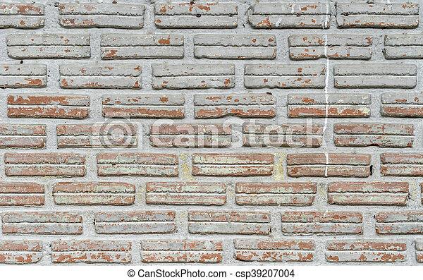 old brick wall - csp39207004