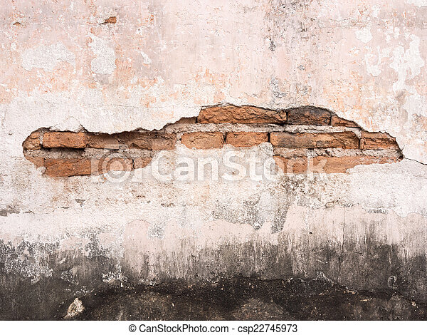 old brick wall texture background - csp22745973