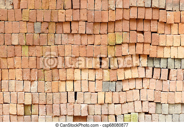 Old brick wall texture background - csp68080877