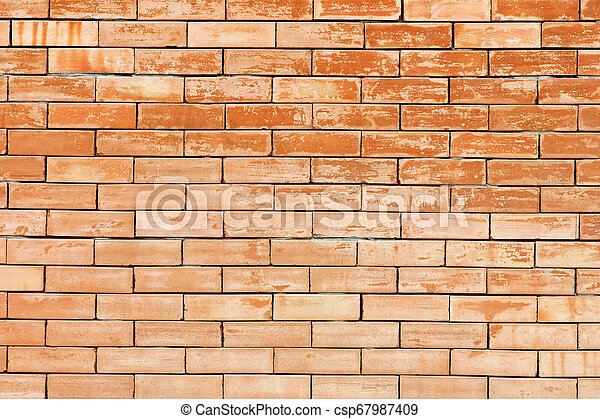 old brick wall texture background - csp67987409