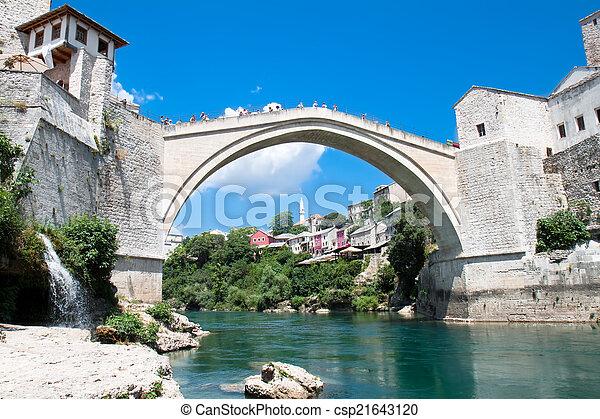 Old bridge - Mosta - csp21643120
