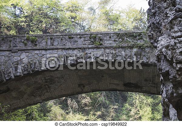 old bridge - csp19849922