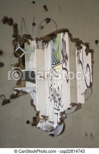 Old Broken Door   Csp22814743