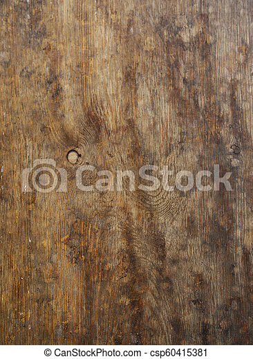 old brown wooden background - csp60415381