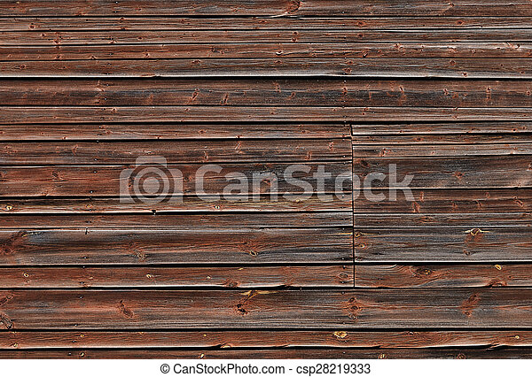 Old brown wooden background - csp28219333