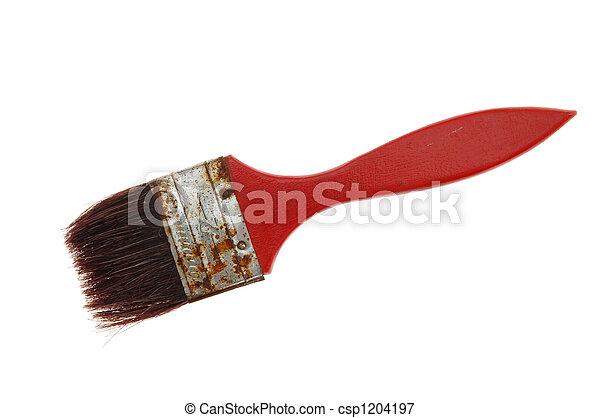 old brush - csp1204197