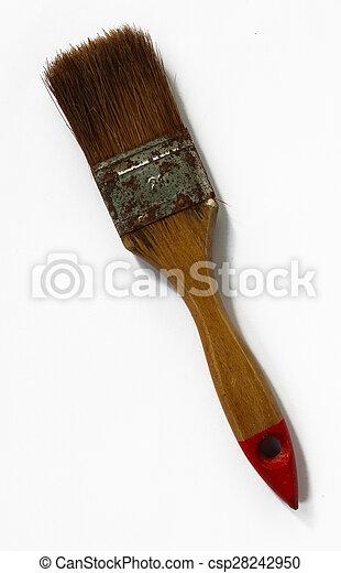 old brush - csp28242950