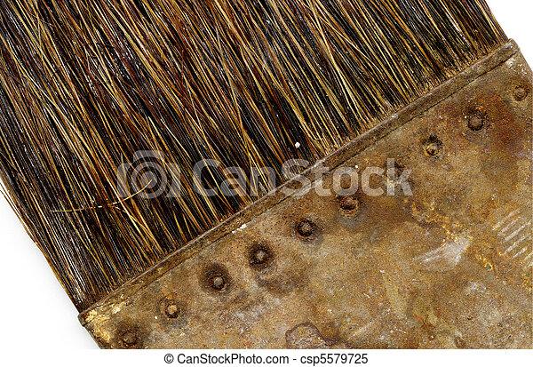 old brush - csp5579725