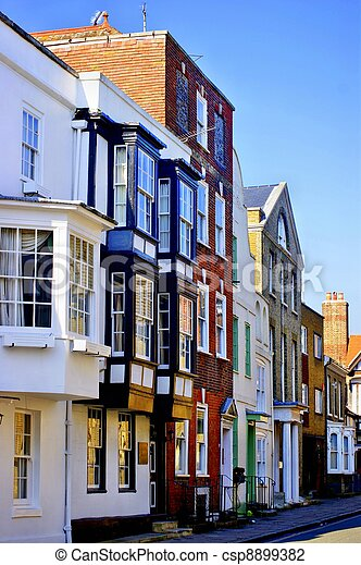 Old Buildings in Southampton - csp8899382