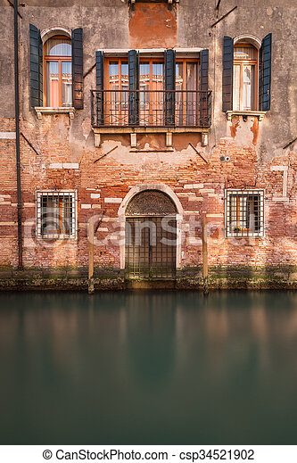 Old Buildings in Venice - csp34521902