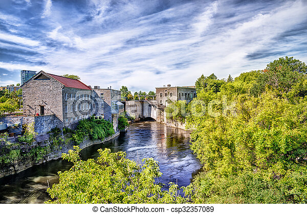 Old buildings on cloudy sky background hdr effect pictures old buildings csp32357089 thecheapjerseys Image collections