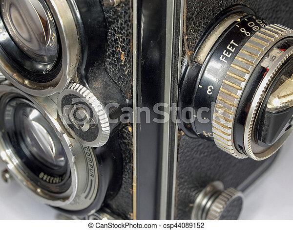 Old Camera, detail - csp44089152