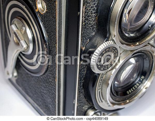 Old Camera, detail - csp44089149