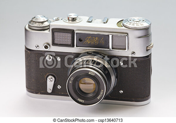 old camera - csp13640713