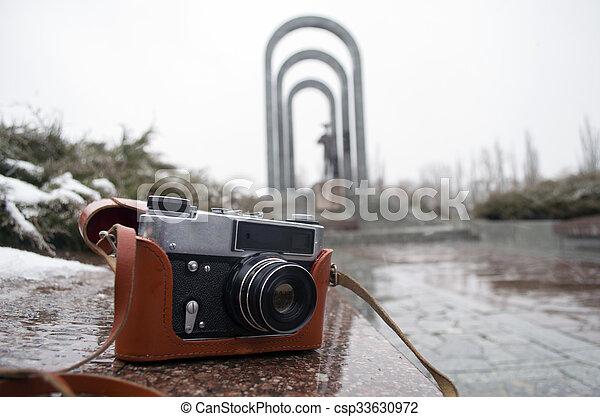 old camera - csp33630972