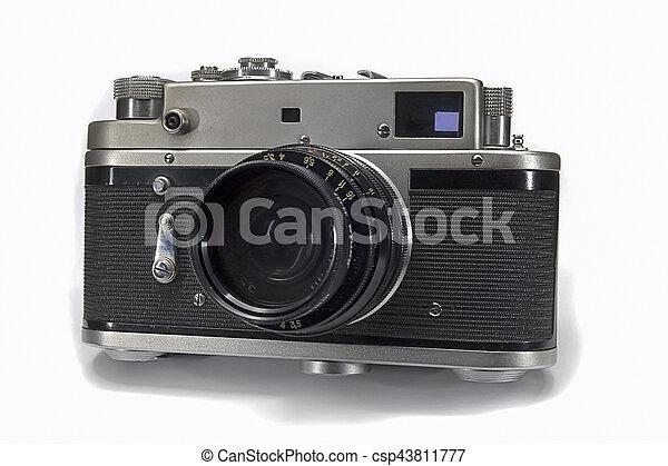 Old Camera - csp43811777