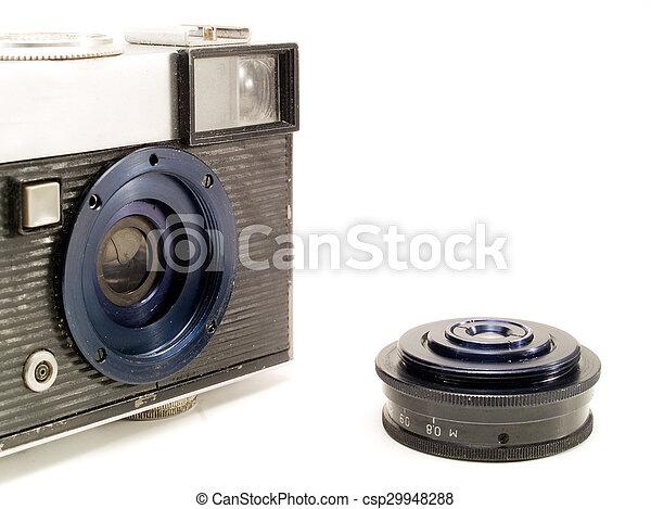 Old Camera - csp29948288