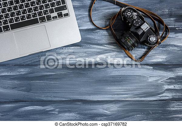 Old camera - csp37169782