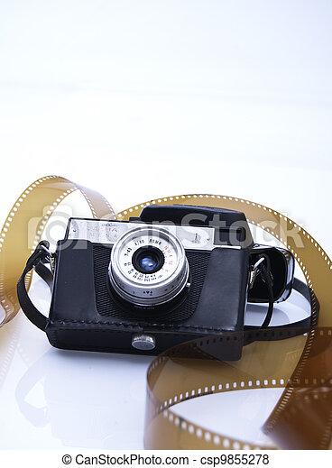 Old camera - csp9855278