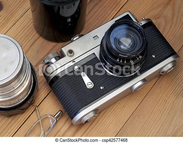 Old Camera - csp42577468