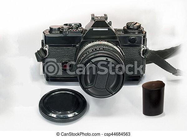 Old Camera - csp44684563