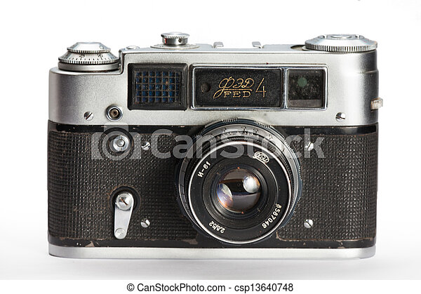 old camera - csp13640748