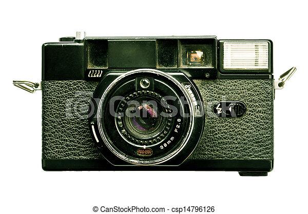 old camera - csp14796126