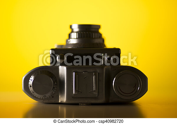 Old camera - csp40982720