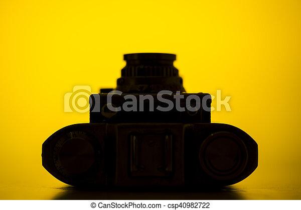 Old camera - csp40982722