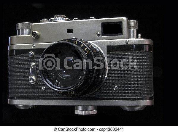 Old Camera - csp43802441
