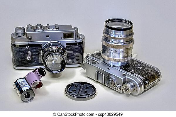 Old Camera - csp43829549