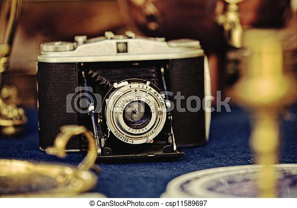 Old camera - csp11589697