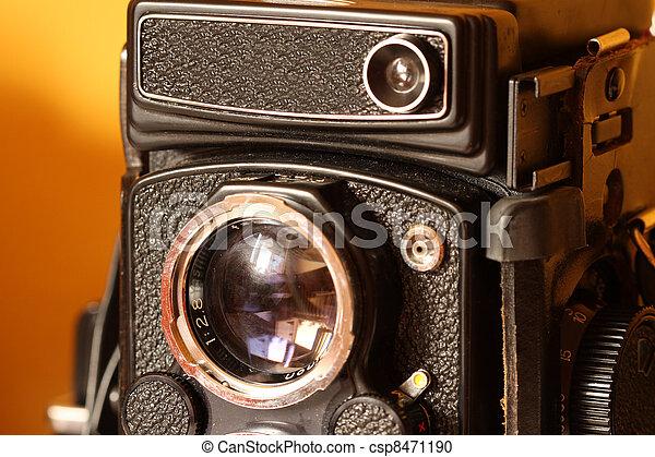 Old Camera - csp8471190