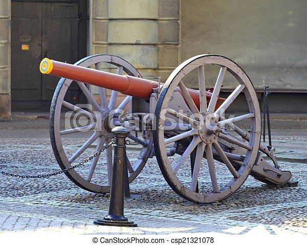 old cannon - csp21321078