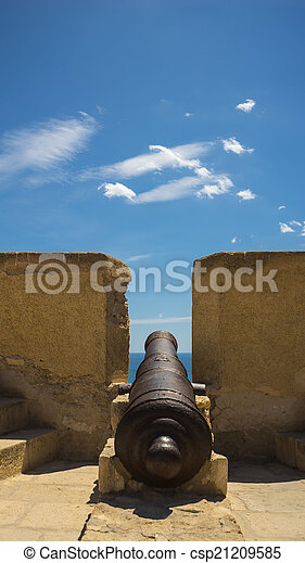 Old Cannon - csp21209585