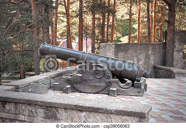 Old cannon - csp39056063