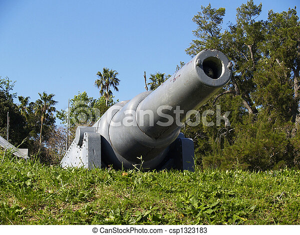old cannon - csp1323183