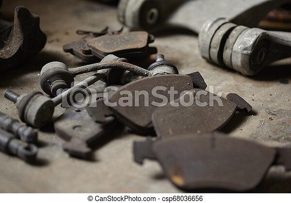 Old car spare parts #2 - csp68036656