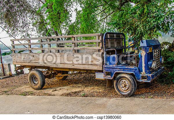 Old car - csp13980060