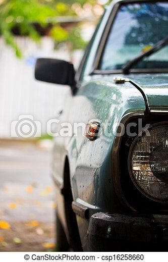 Old car - csp16258660