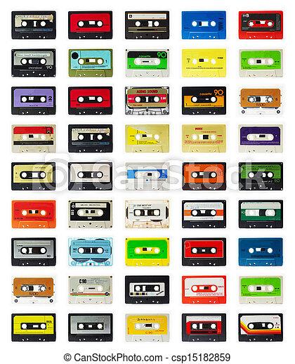 old cassette - csp15182859