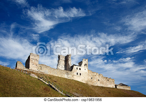 Old castle in Rakvere, Estonia - csp19831956
