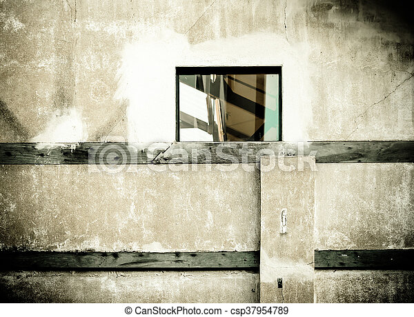 Old cement wall texture background - csp37954789