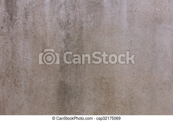old cement wall texture background - csp32175069