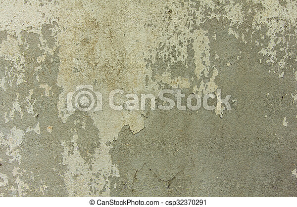 old cement wall texture background - csp32370291
