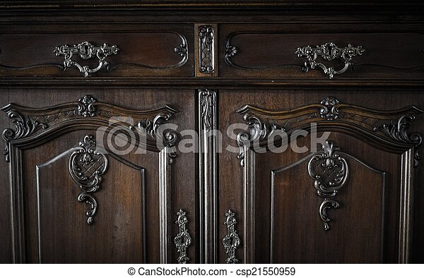 Old chest of drawers - csp21550959